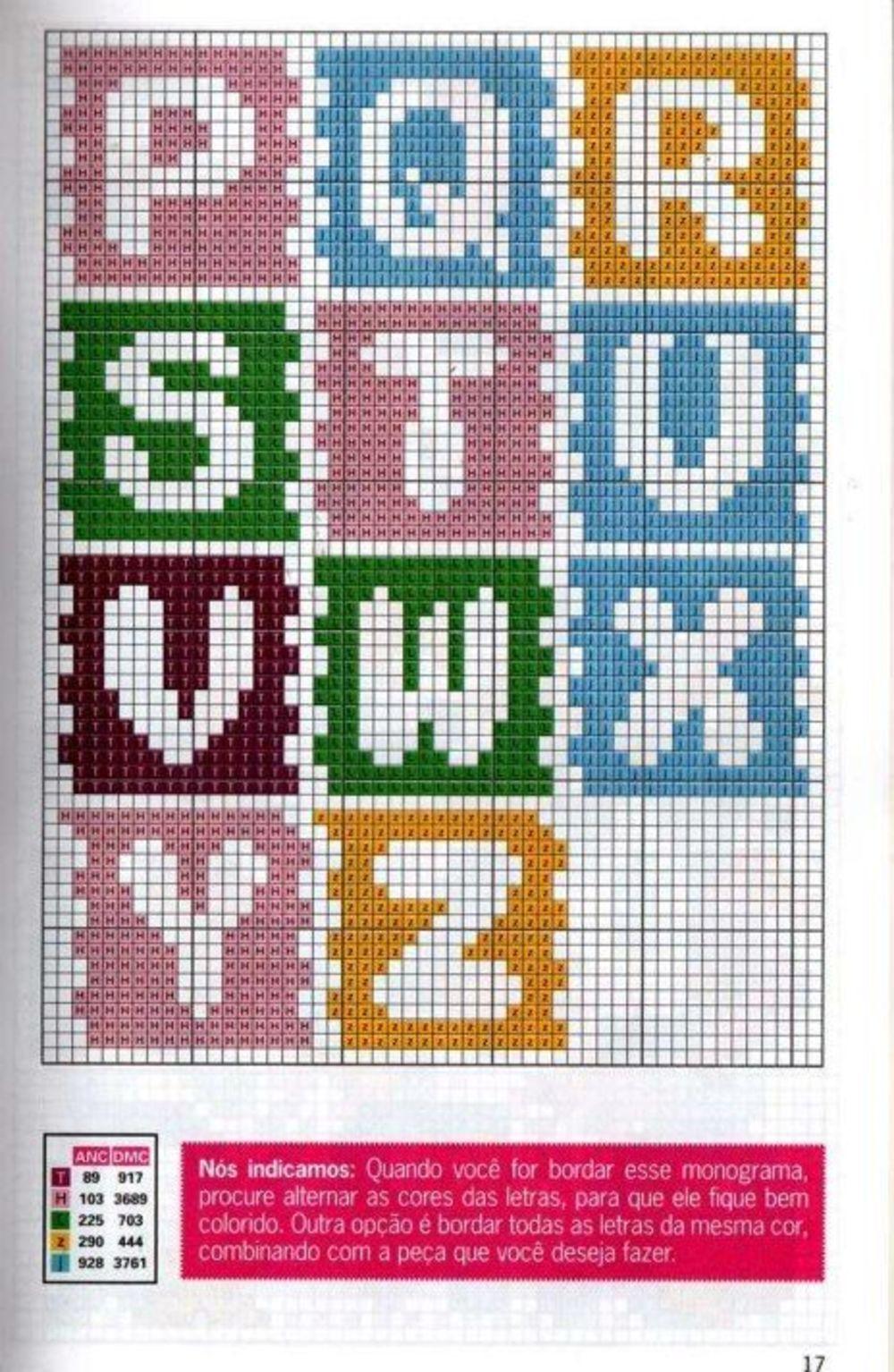 Alfabeto Punto Croce Bambini Tessere Del Puzzle 2