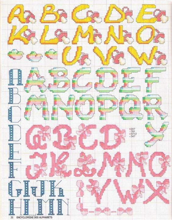 Schemi punto croce gratis archives pagina 7 di 19 for Alfabeti a punto croce per bambini