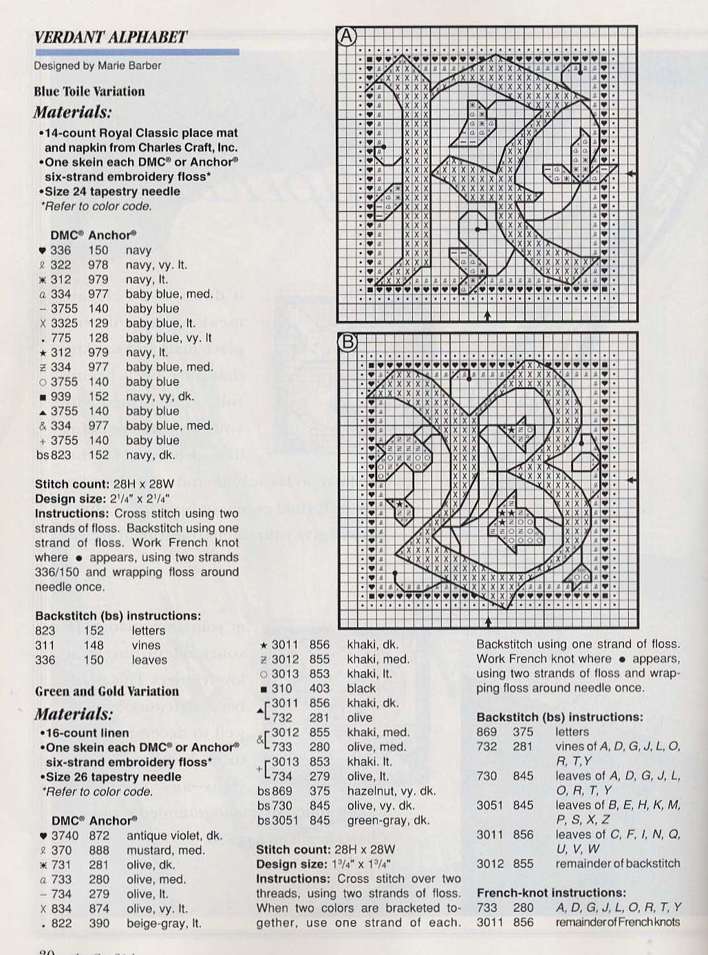 Alfabeto schema punto croce fantasy (1)