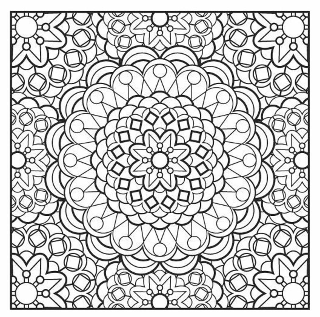 Volwassen Kleurplaat Hert Disegni Da Colorare Difficili Per Adulti Mandala