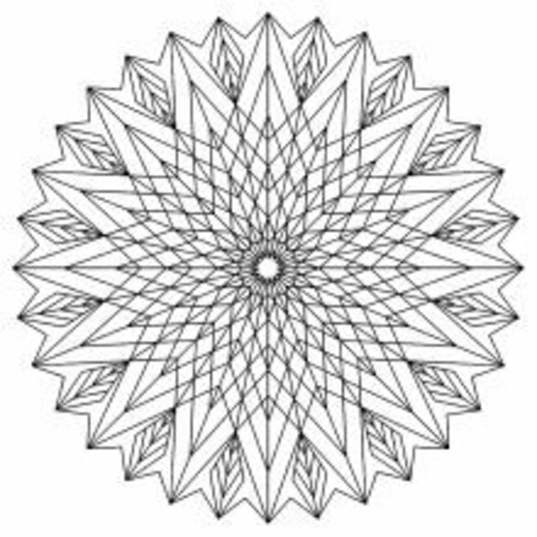 Disegni da colorare mandala 5604 - Coloriage adulte difficile ...
