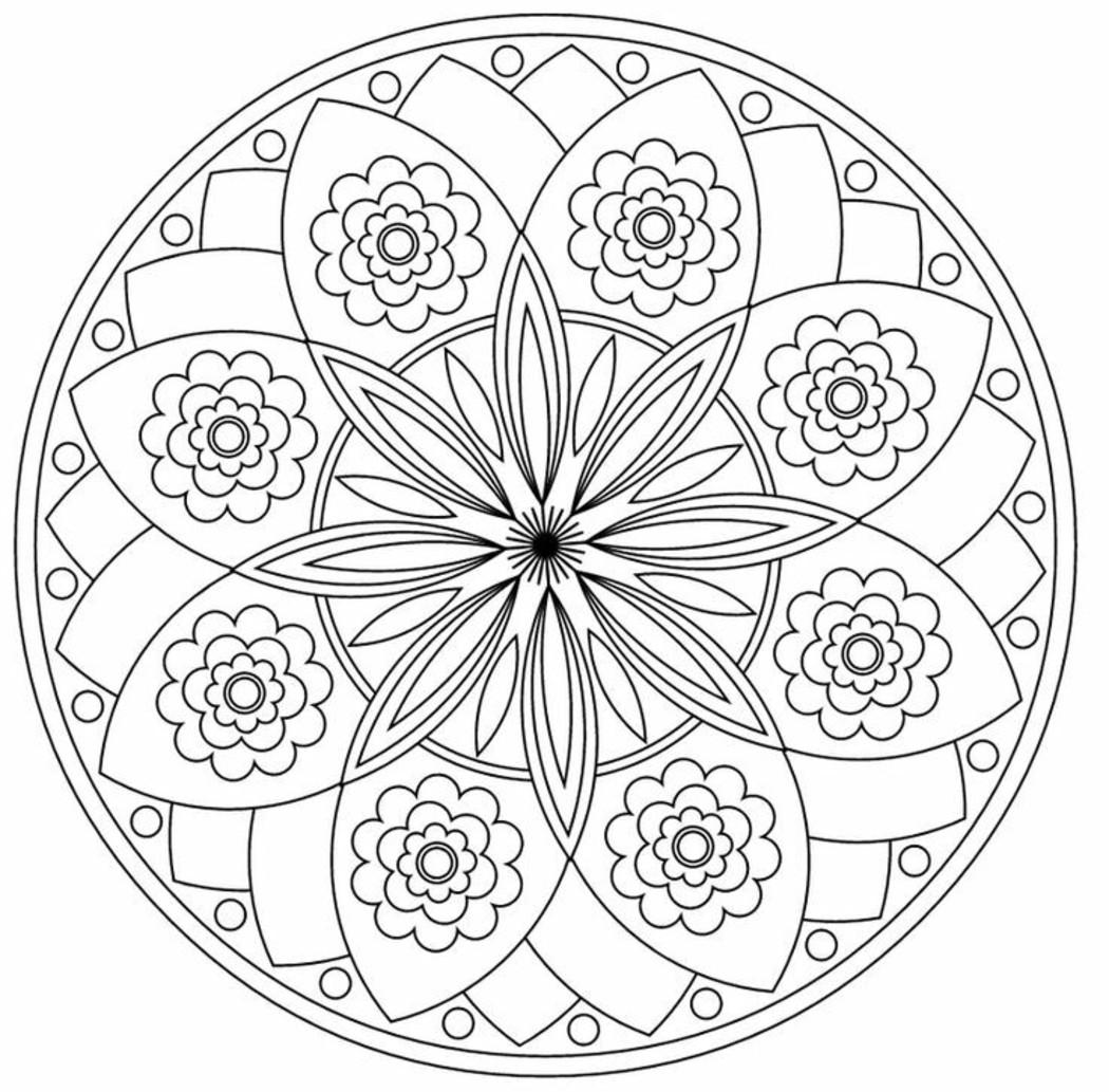 Disegni Da Colorare Per Adulti Mandala Buongiornissimocaffe It