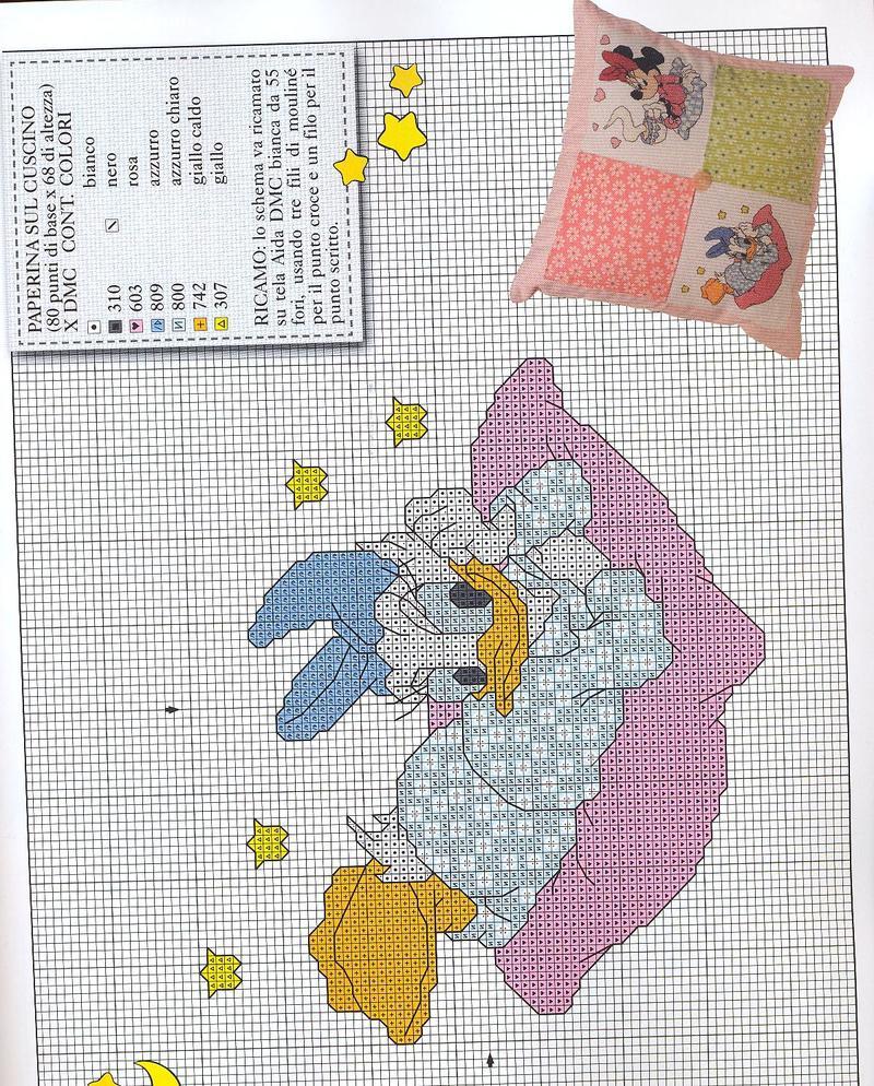 Disney schemi punto croce gratis for Schemi punto croce bambini disney