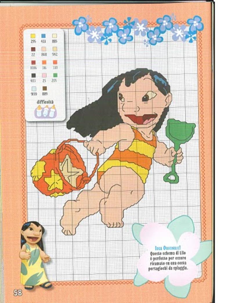 Lilo & Stitch schemi punto croce belli (11)
