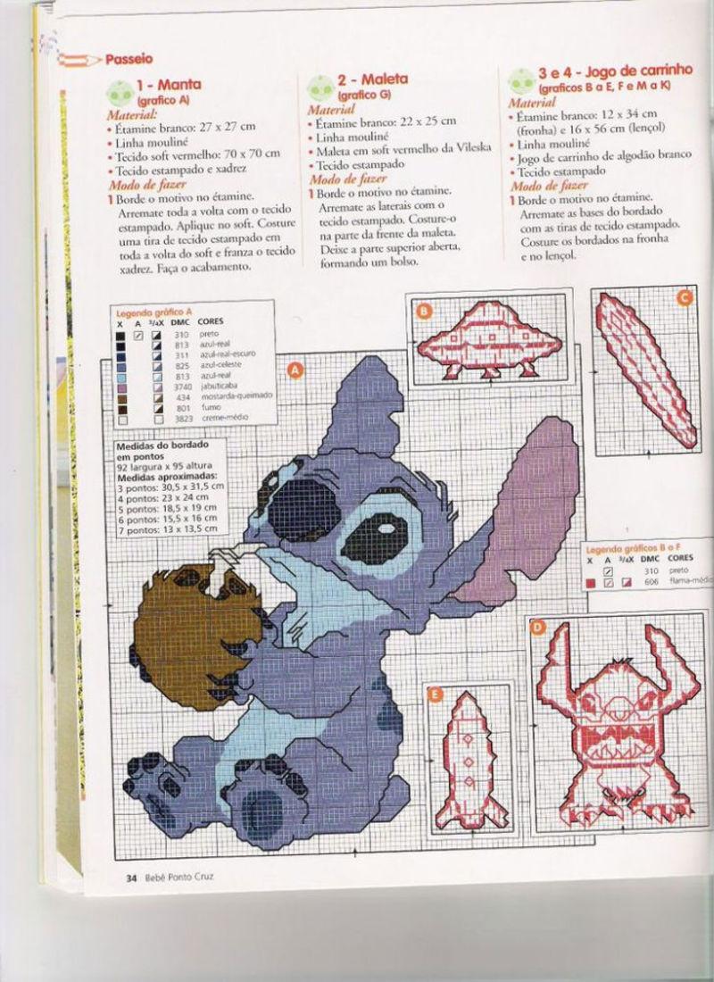 Lilo Stitch Schemi Punto Croce Belli 13