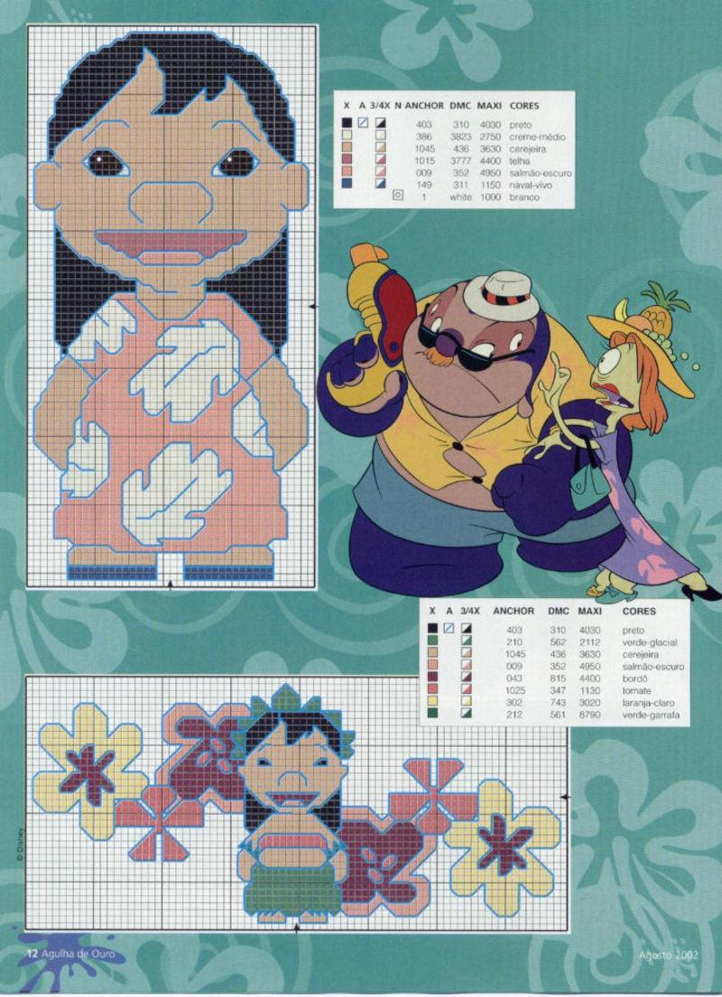 Lilo & Stitch schemi punto croce belli (2)