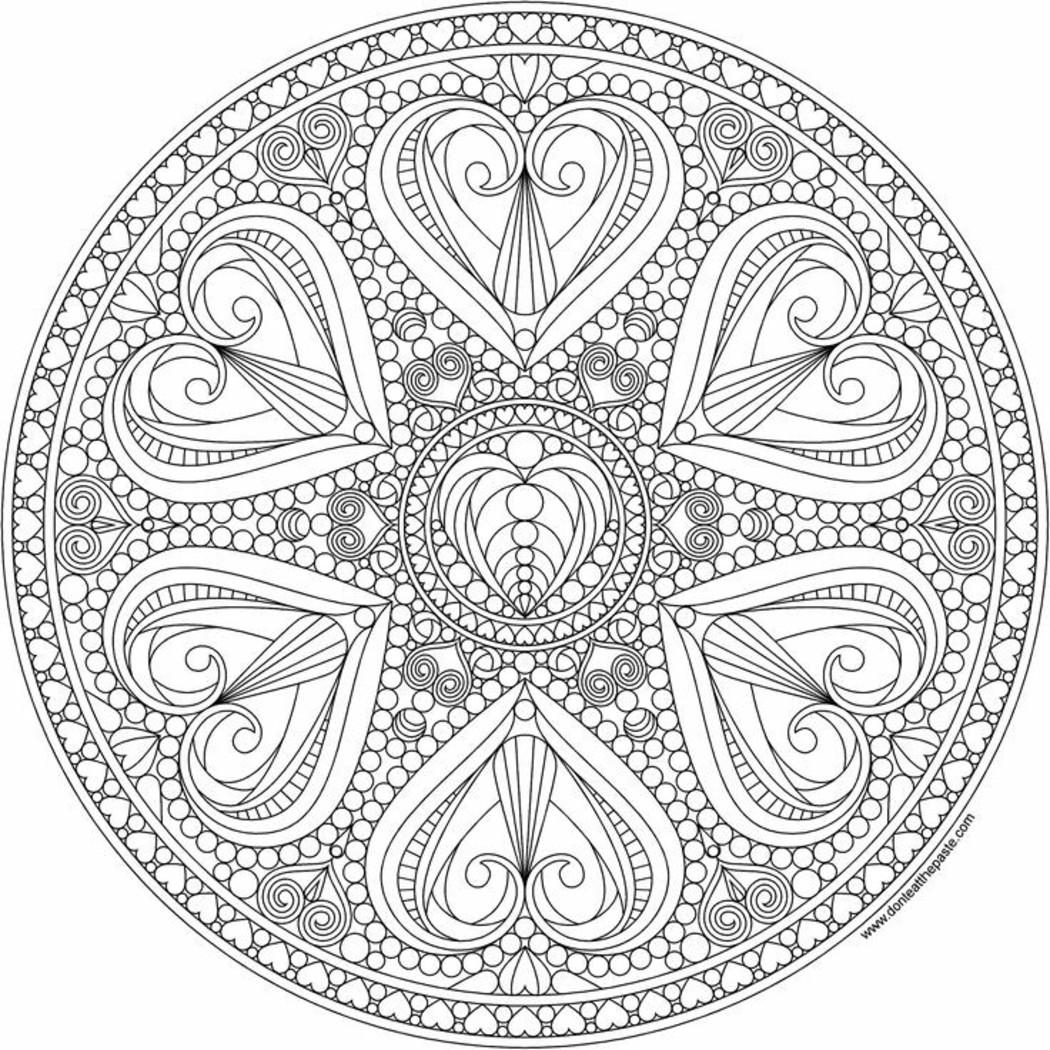 Mandala da colorare difficilissimi (1)