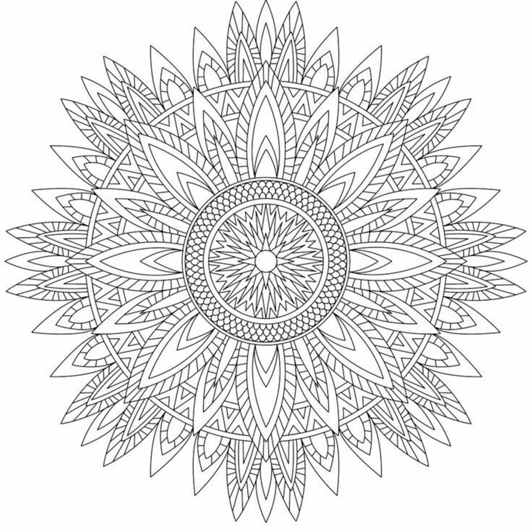 Mandala da colorare difficilissimi (3)