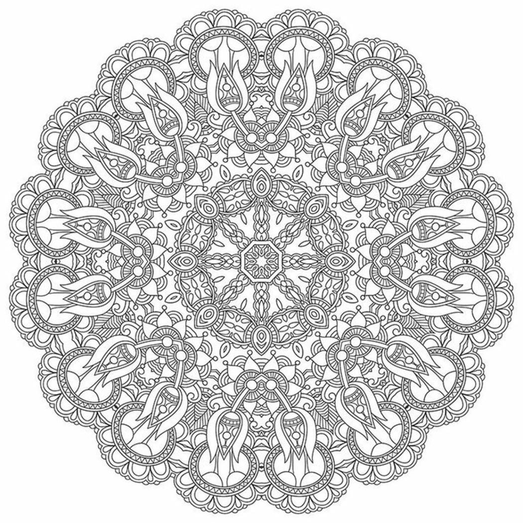 Mandala da colorare difficilissimi (4)