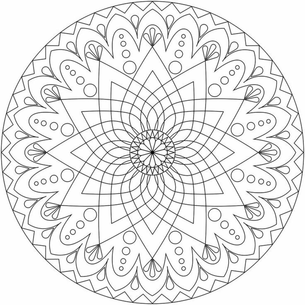 Mandala Da Colorare Per Adulti 912 Buongiornissimocaffe It