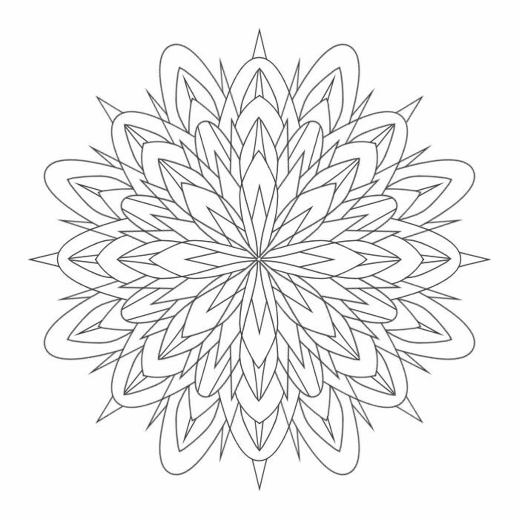 Mandala Da Colorare Per Adulti 9152 Buongiornissimocaffeit