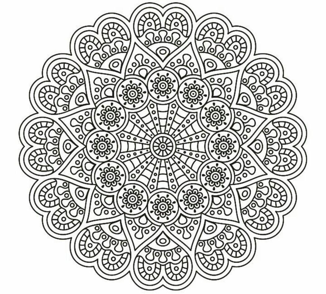 Mandala da stampare 3682 for Lepre immagini da stampare