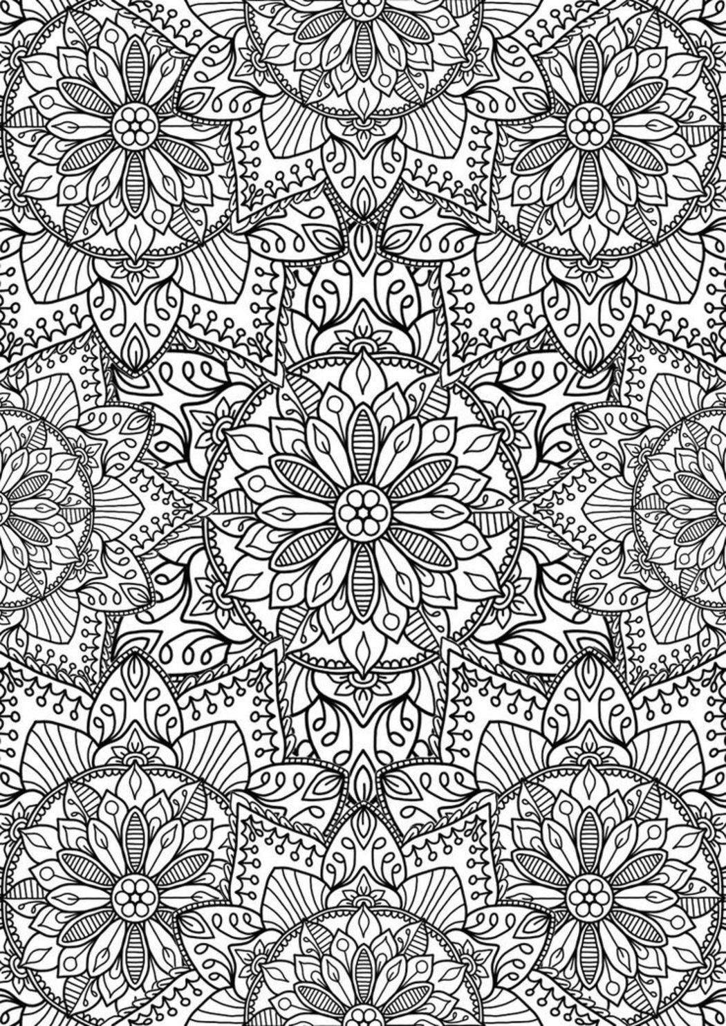 Mandala disegno 3846