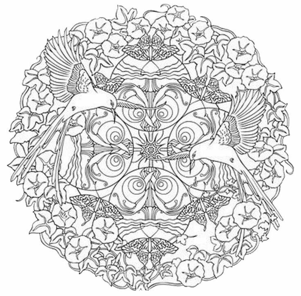 Mandala Da Colorare Difficili Buongiornissimocaffe It