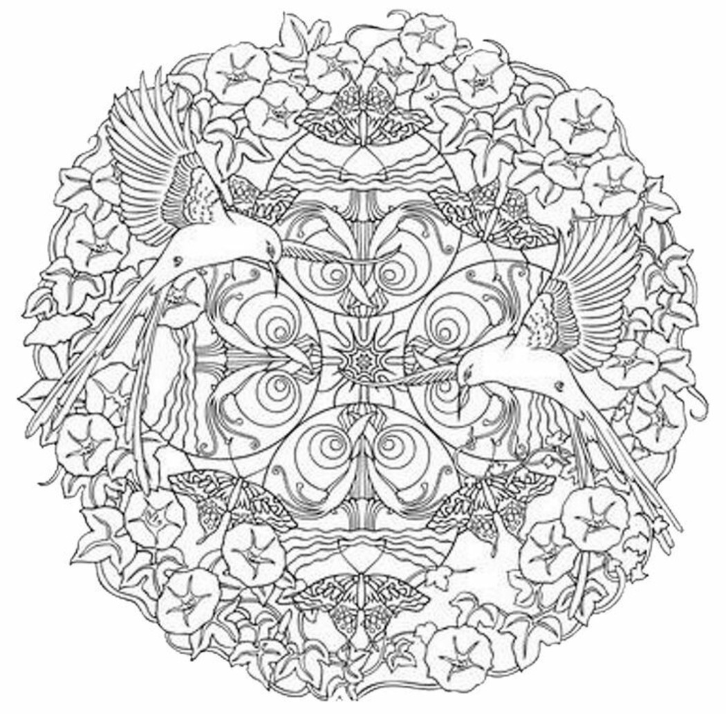 Mandala disegno 4016