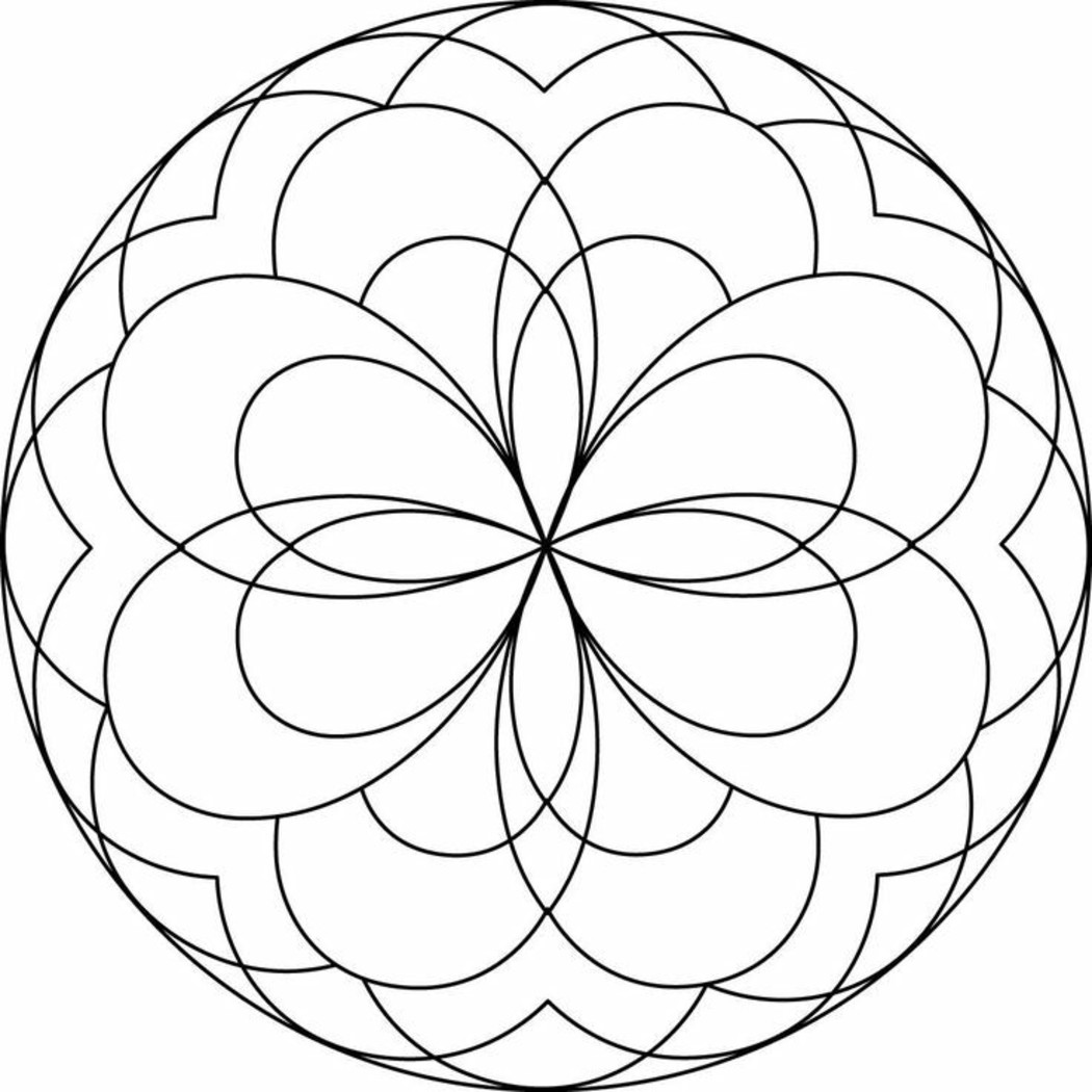 Mandala disegno 4042