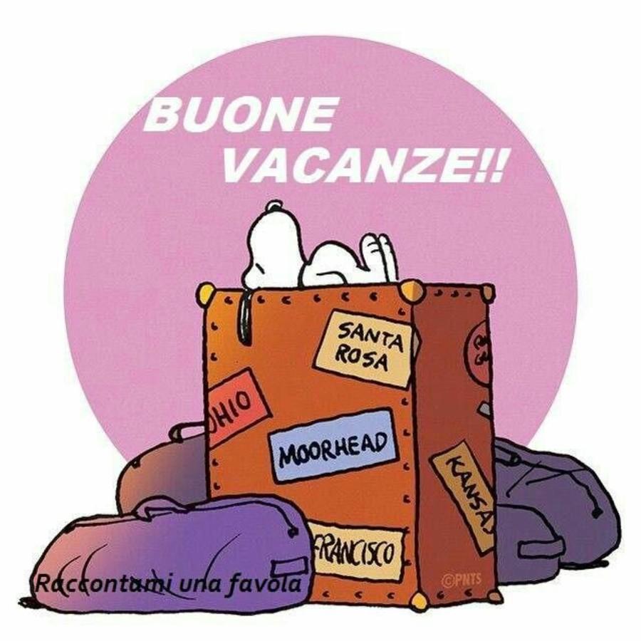 Buone Vacanze Snoopy Buongiornissimocaffe It