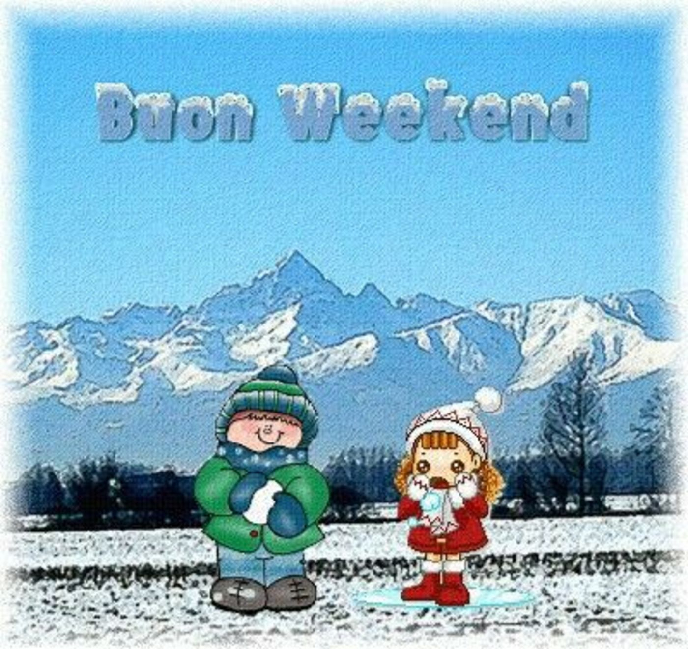 Buon Weekend Invernale Buongiornissimocaffe It