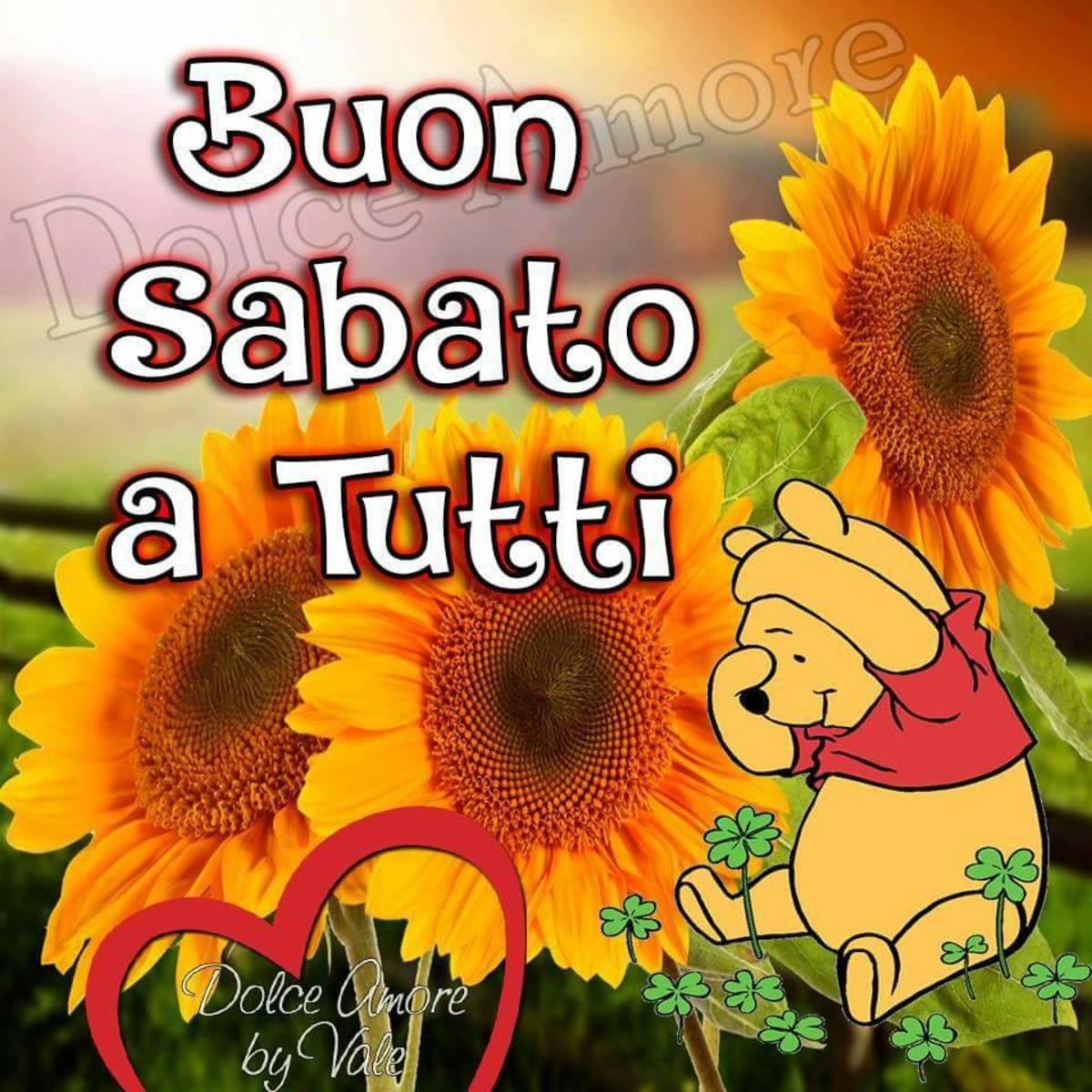Buon Sabato A Tutti Winnie The Pooh Buongiornissimocaffeit