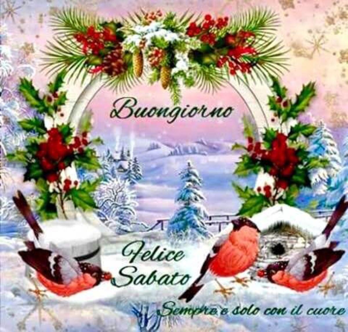 Buon Sabato Immagini Per L Inverno Buongiornissimocaffe It