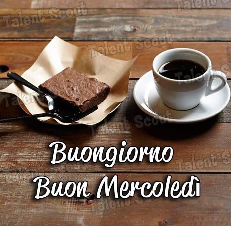 Buongiorno Buon Mercoledì con caffè
