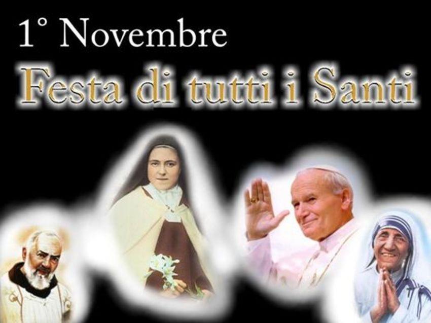 1 Novembre Festa di Tutti i Santi