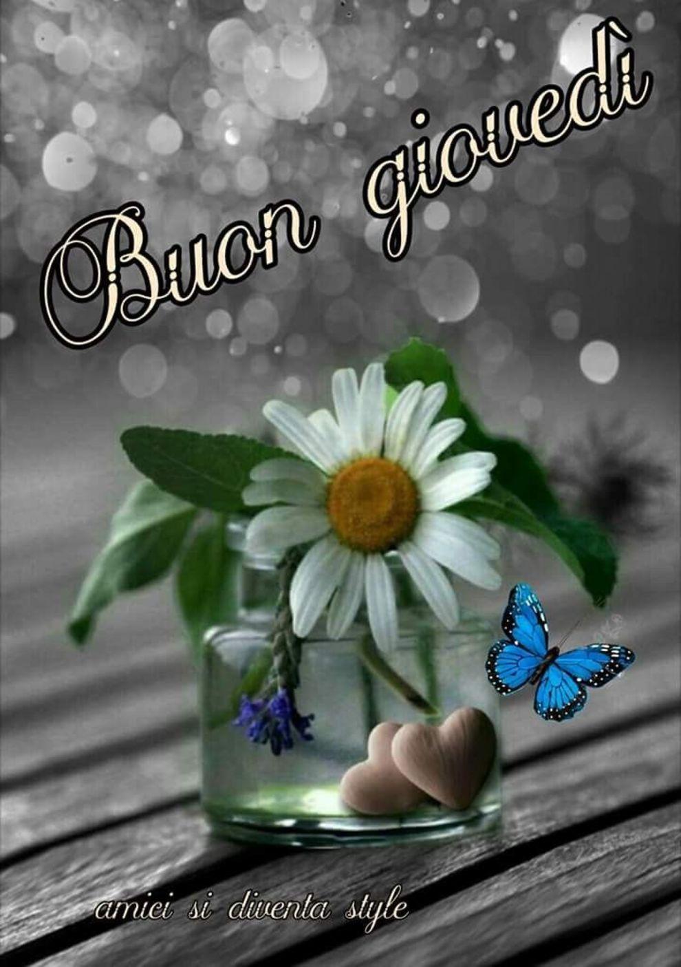 Buon Giovedì con i fiori