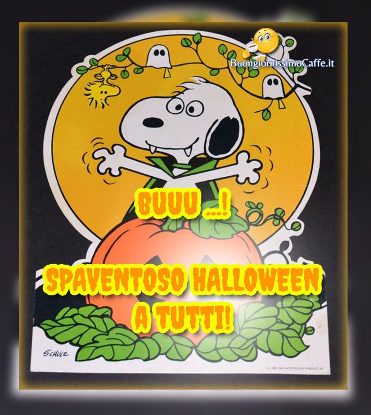 Buon Halloween a tutti immagini nuovissime Snoopy