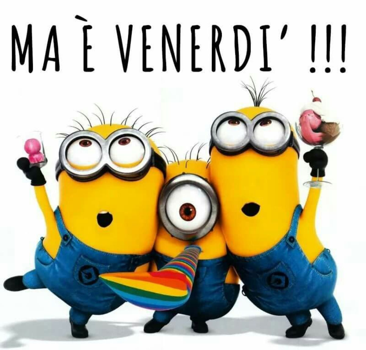 Buon Venerdì Minions Buongiornissimocaffe It