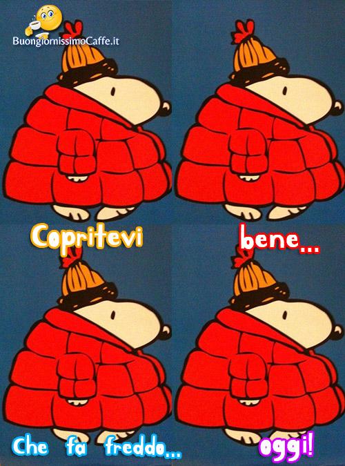Frasi mafalda che freddo che fa for Immagini snoopy gratis