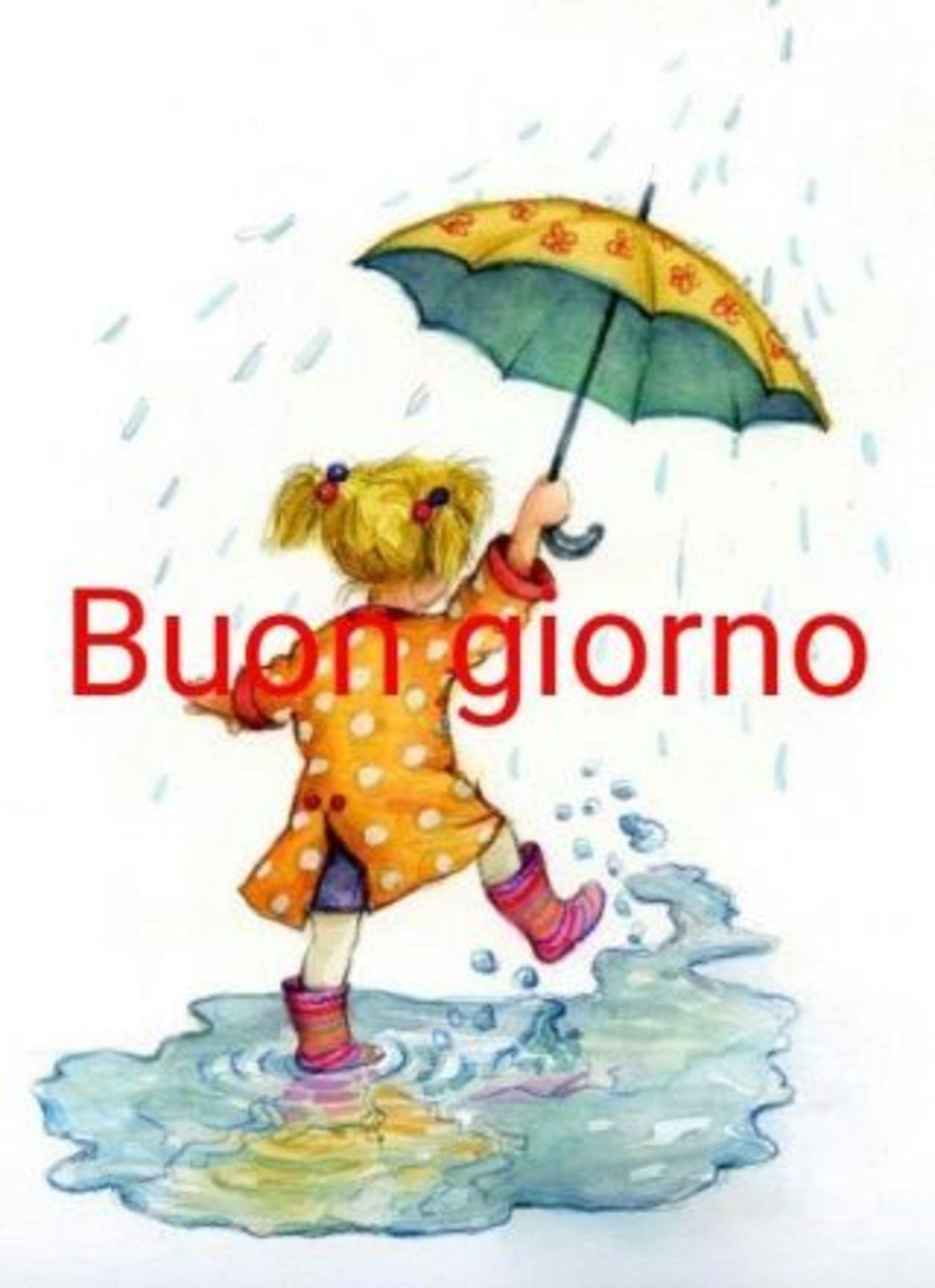 Piove Buongiorno WhatsApp