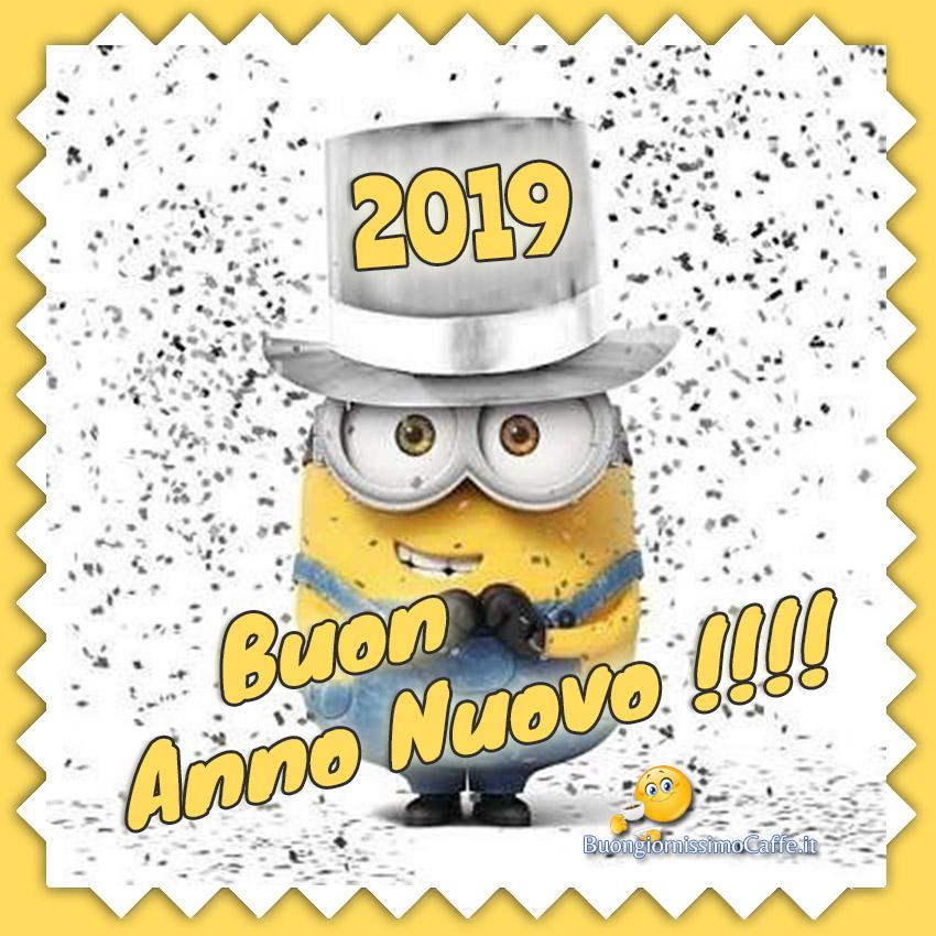 Buon 2019 con i Minions