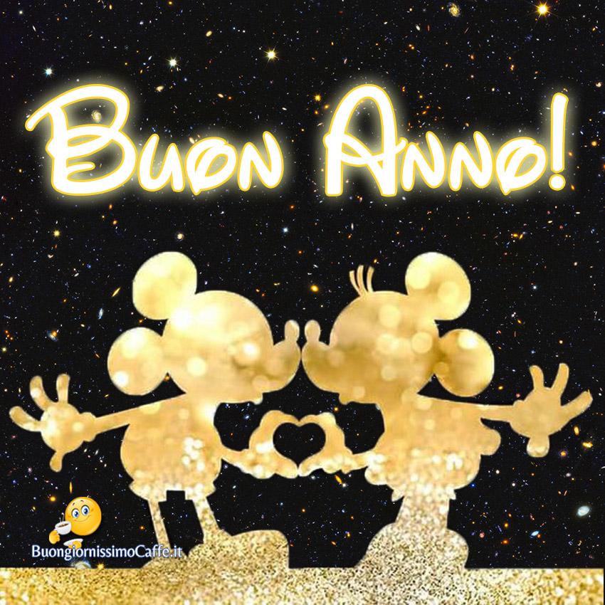 Buon Anno romantico con Topolino e Minnie
