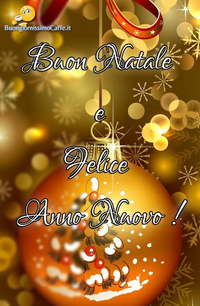 Buon Natale e Felice Anno Nuovo immagini Facebook