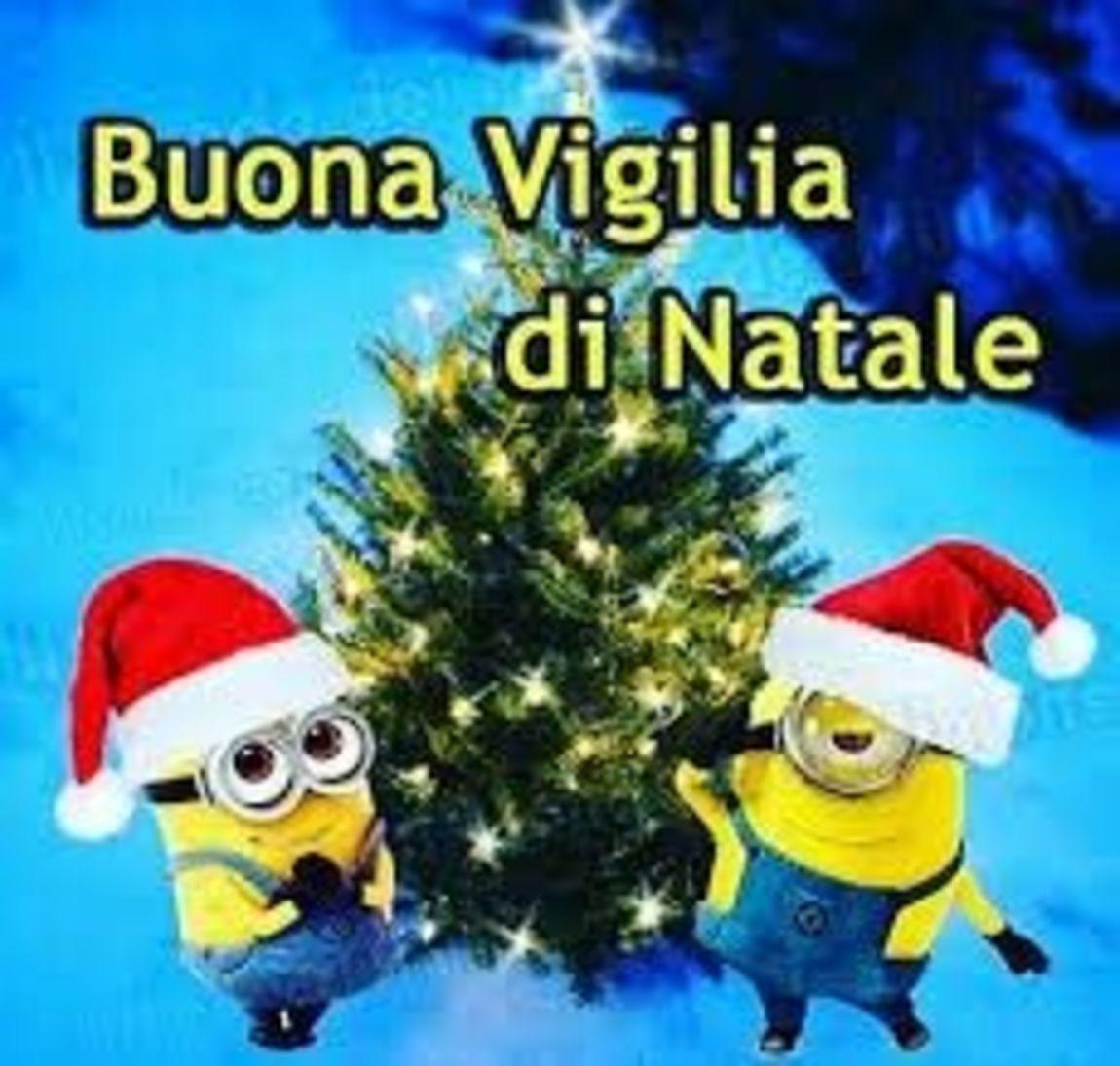 Buona Vigilia Di Natale Minions Buongiornissimocaffeit