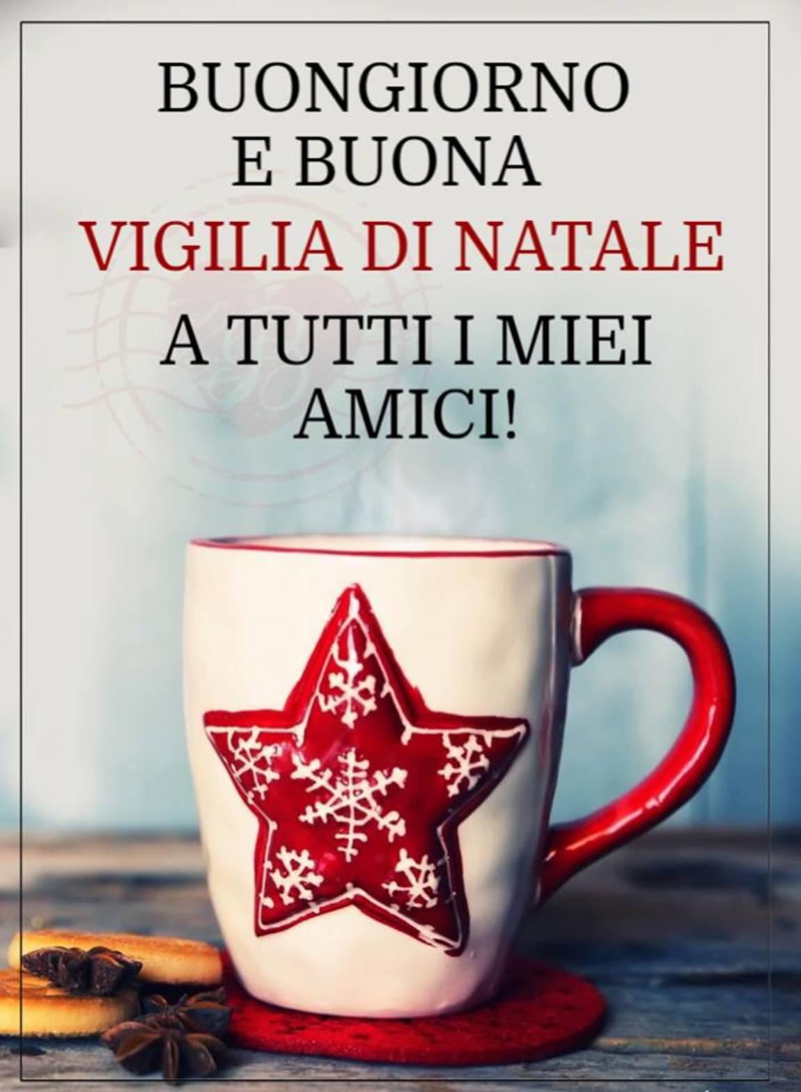 Buona Vigilia Di Natale A Tutti Gli Amici Buongiornissimocaffeit