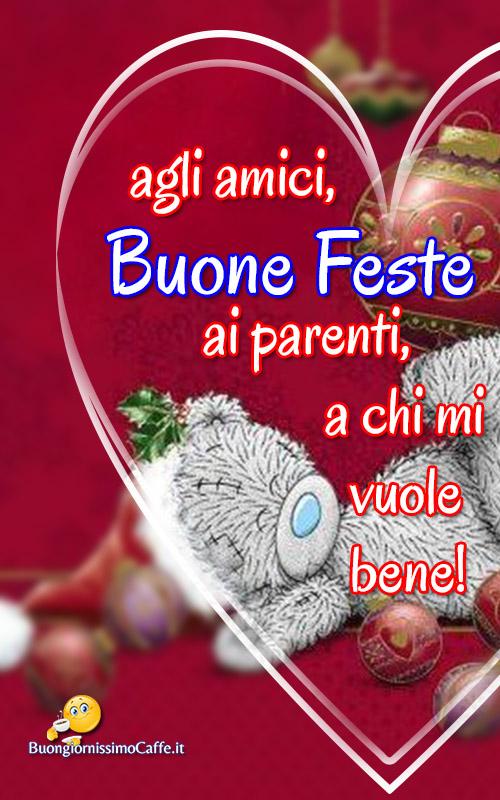 Buone Feste a tutti bellissime immagini di Natale