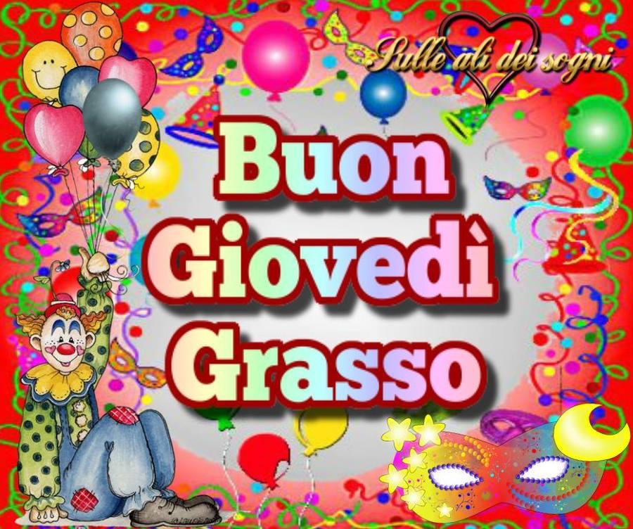 Buon Giovedì Grasso