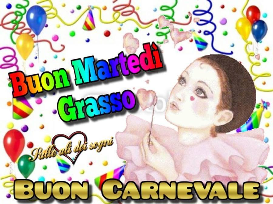 Buon Martedì Grasso Buon Carnevale
