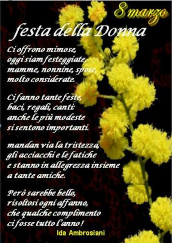 Festa Delle Donne Auguri Da Mandare Buongiornissimocaffeit