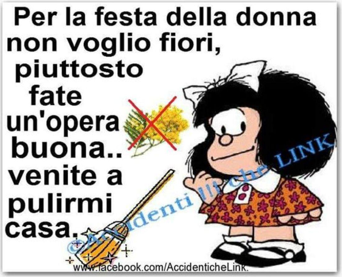 Mafalda immagini divertenti per Festa della Donna - BuongiornissimoCaffe.it
