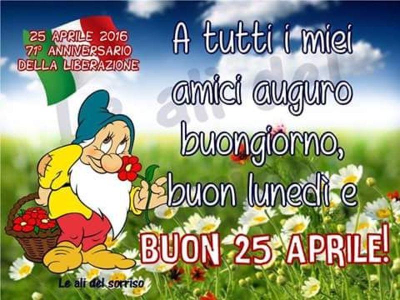 Buon 25 Aprile auguri 1