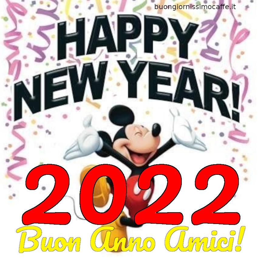 Buon Anno Amici 2022 con Topolino