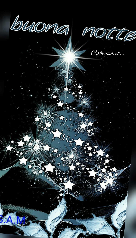 buona notte albero di Natale